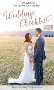 Wedding Detail Checklist Wedding Checklist Wedding Planning Checklists Wedding