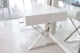 lacquer furniture modern. White Modern Desk Stylish Lacquer Furniture Home Decorations Insight In 20