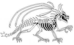 Small Picture Dinosaur Bones Free Printable Coloring PagesBonesPrintable