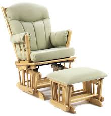 shermag post glider rocker combo natural light green baby outdoor rocking chairs and gliders white upholstered