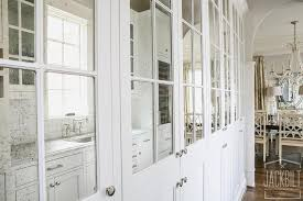 antiqued mirrored pantry cabinets view full size