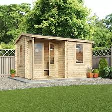 office garden shed. Waltons 4m X 3m Home Office Executive Log Cabin Office Garden Shed