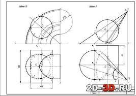 Скачать контрольные работы по начертательной геометрии Контрольные работы по начертательной геометрии