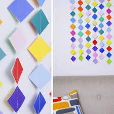 diy 10 wall hanging ideas to decorate your home k4 craft intended for how to make wall hangings with paper step by step