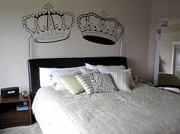 king and queen crown wall decal by