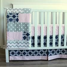baby girl crib bedding set navy blue