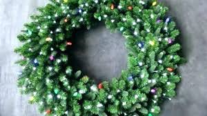 Outdoor Lighted Wreath Amazing Outdoor Lighted Wreath Large Wreaths Lit Sell Home Interior Candles