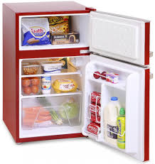 Retro Style Kitchen Appliance Montpellier Fridge Freezers Montpellier Mab2030r Red Under