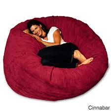 5-foot Memory Foam Bean Bag Chair - Free Shipping Today - Overstock.com -  15774676