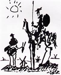 picasso don quixote aka man on a horse we had a reion of