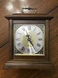 linden quartz triple chime mantle clock