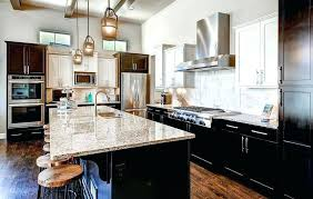 colonial white granite countertops with dark cabinets image of chocolate