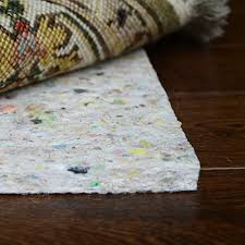 this rug pad combines the natural eco friendly fibers of wool and wool blend to provide you with a highly valuable and plushy rug pad for your hardwood