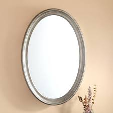 oval mirror classic oval medicine cabinet with mirror oval vanity mirror on stand