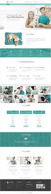 Veterinary Website Design Inspiration Fluffypaw Is Modern Design Psd Template For Veterinary And