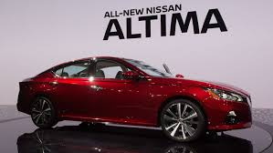 Nissan Altima New Design 2019 Nissan Altima Arrives In New York With Sharper Styling