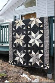 60 best Current Projects images on Pinterest | Star quilts, Big ... & Uses the Little Black Dress collection and a tutorial by Missouri Star Quilt  Co. (The Big Star Quilt) Adamdwight.com