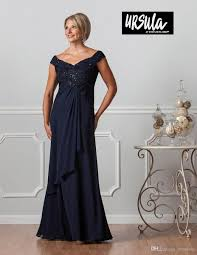 Navy Blue Mother Of The Bride Dresses Off The Shoulder A Line High Waist Sequins Chic Evening Dress Elegant Formal Party Gowns
