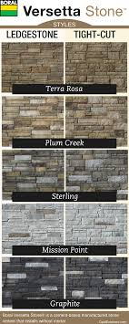Boral Versetta Stone Styles And Colors Stone Exterior
