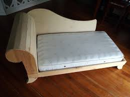 Diy Toddler Bed Diy Toddler Bed Fainting Couch Part 2 Reality Daydream