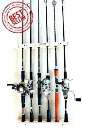 fishing pole wall rack rod racks 6 storage easy handmade wood sportsman mounted plans rac
