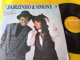 Vinil Jairzinho & Simony Em Espanhol Lp Argentina 1987