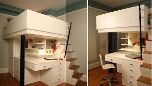bunk bed with office underneath. Bunk Bed With Office Underneath E