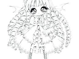 Anime Angel Coloring Pages Cspninfo