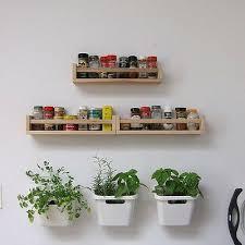 ikea wall rack wooden 1 birch rack