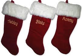red velvet christmas stockings. Plain Red 21 Intended Red Velvet Christmas Stockings T