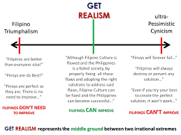 excuses filipinos use to justify our society s failure pessimistic cynicism is not get realism