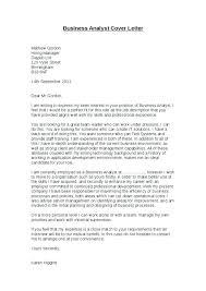 Sample Cover Letter Analyst Bezholesterol