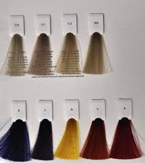 Maraes Hair Color Chart
