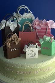 11 Shopping Bag Birthday Cakes Photo Designer Birthday Shopping