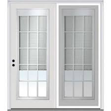 center hinged patio doors. Milliken X Blinds Between The Glass Right-Hand Inswing Off-White Fiberglass Center-Hinged Patio Door With Center Hinged Doors G