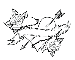 coloring pages of hearts hearts and roses coloring pages perfect coloring pictures of hearts and roses