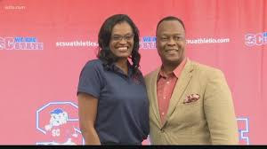 Audra Smith Introduced As S.C. State's New Head Basketball Coach | wltx.com