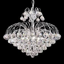 james moder 94804s22 jacqueline crystal silver mini chandelier light loading zoom