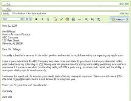 ... How To Send A Resume 14 Email Submitting Resumes ...