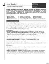 Pr Resume Skills Buzzwords Templates Public Relations Objective Www