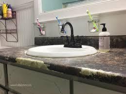 replace bathroom countertop