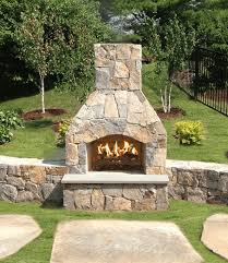 better homes gardens eye catching outdoor fireplace kits stonewood s cape cod ma nh ct