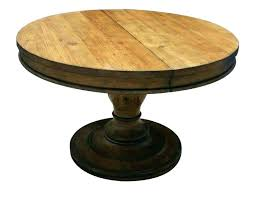 round wood dining table 60 inch reclaimed solid outdoor kitchen drop 60 inch round wood pedestal