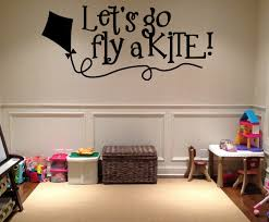 Small Picture Lets go fly a kite Vinyl Wall Decal hd083 Contemporary Wall