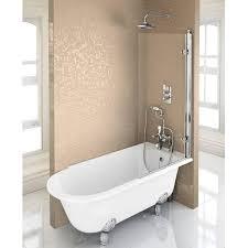 burlington hampton 1700 freestanding shower bath right hand
