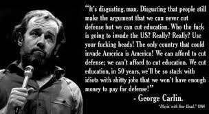 George Carlin English Quotes