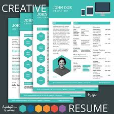 Resume Template Design Free Download Creative Cv Templates With