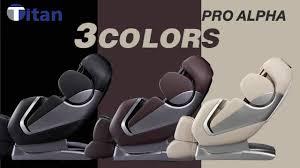 titan alpha massage chair information