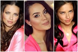 victorias secret inspired makeup hair tutorial giveaway w cal curl hi my loves i hope you enjoy this makeup and hair tutorial inspired by adriana