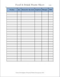 Food Inventory Spreadsheet Restaurant Template Gorgeous 4 Excel